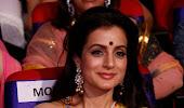 Baby doll Amisha patel and beautiful sri devi stills at tsr tv9 film awards