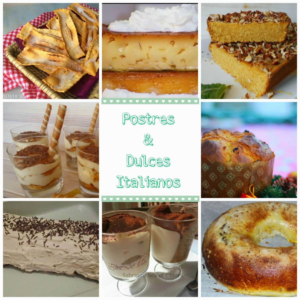 Cocina Postres | Postres Dulces Italianos Cocina