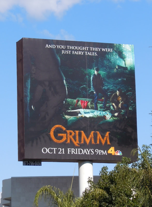 Grimm NBC billboard