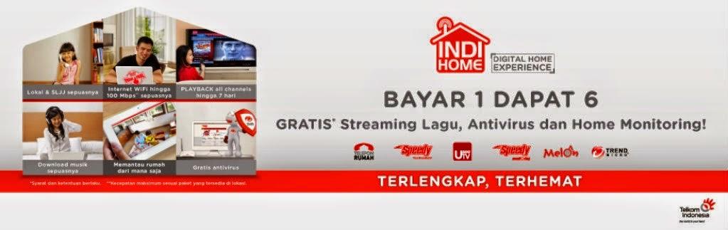 Promo Telkom IndiHome (Telpon, Speedy, UseeTv) All Area Jogja - D.I. Yogyakarta