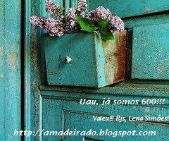 Selinho de 600 amigos seguidores do Amadeirado..