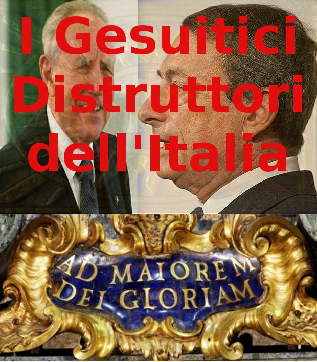 I gesuitici distruttori dell'Italia