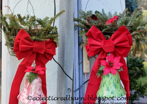 Eclectic Red Barn: Dollar Tree Belsl - dressed up