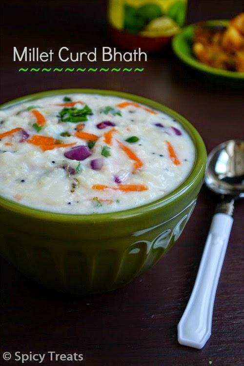Millet Curd Bhat