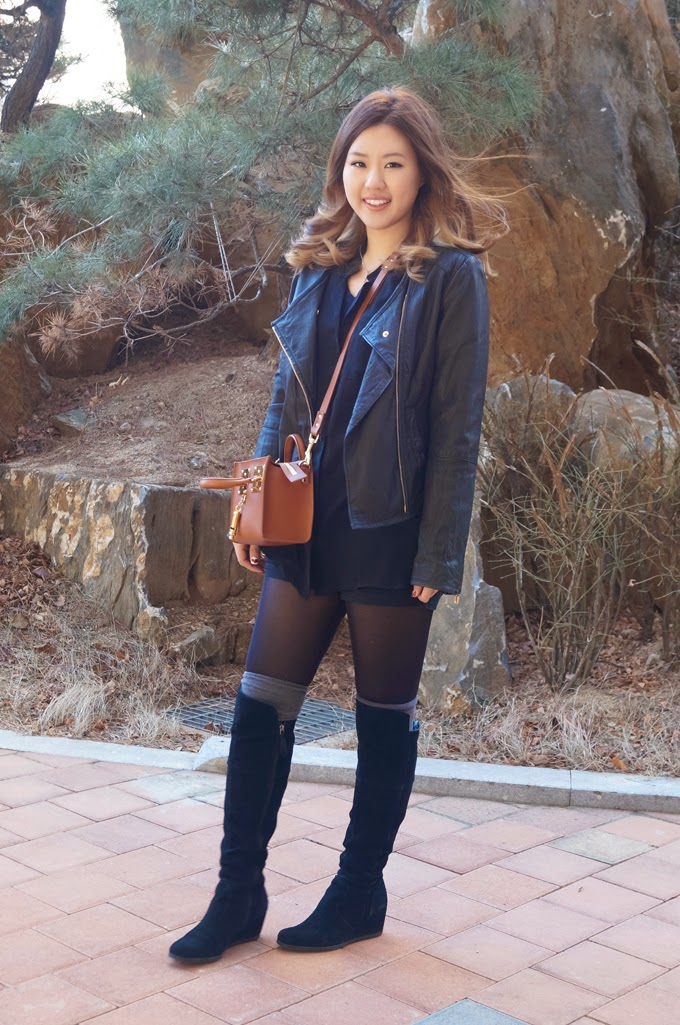 Leather Jacket and Sophie Hulme 1