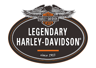 Logo Legendary Harley Davidson Vector Download Free
