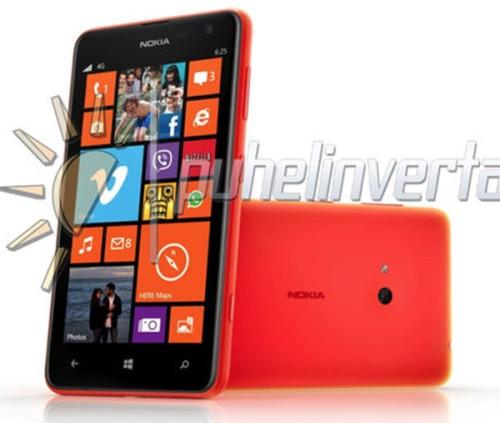Svelato in anteprima il nuovo smartphone windows phone 8 di Nokia, Lumia 625 che si presenta come il device con il display più grande della gamma Lumia