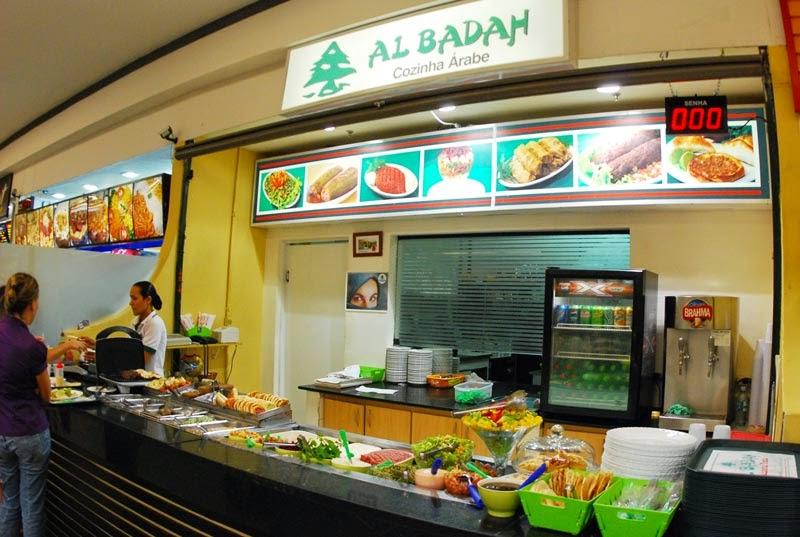 Al Badah Vale Sul shopping - Degustação