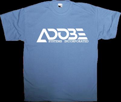 adobe graphic design photography anniversary retro vintage logotype t-shirt ephemeral-t-shirts