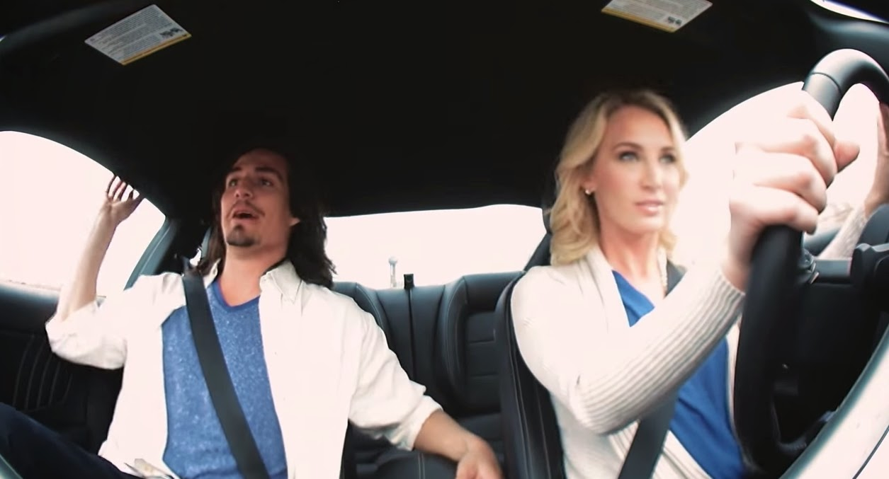speed dating pranks Ford video goes viral as unsuspecting males are taken for a speed dating ride by a female professional stunt driver.