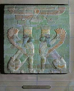 Emblema de Ahura Mazda 600 AC