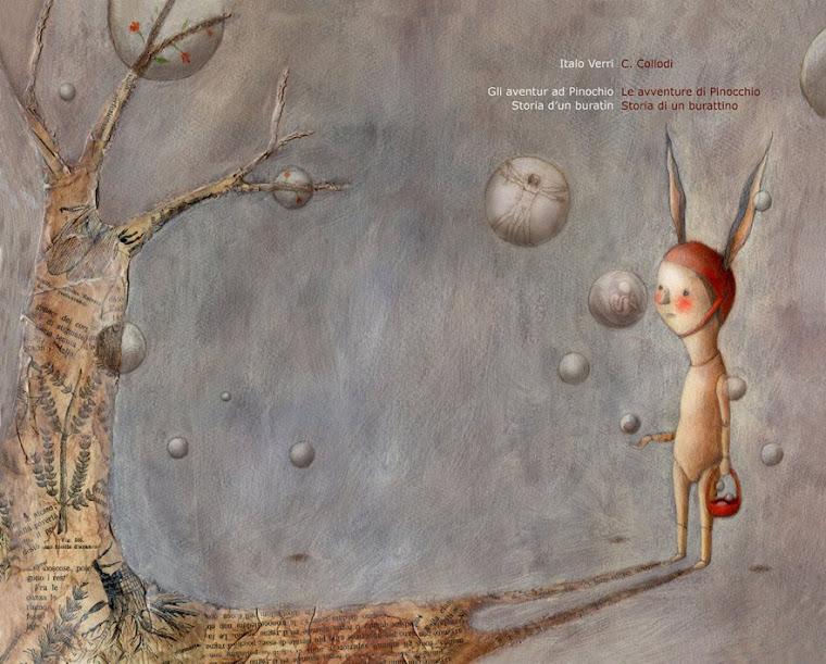 Gli aventur ad Pinochio : Storia d'un buratìn
