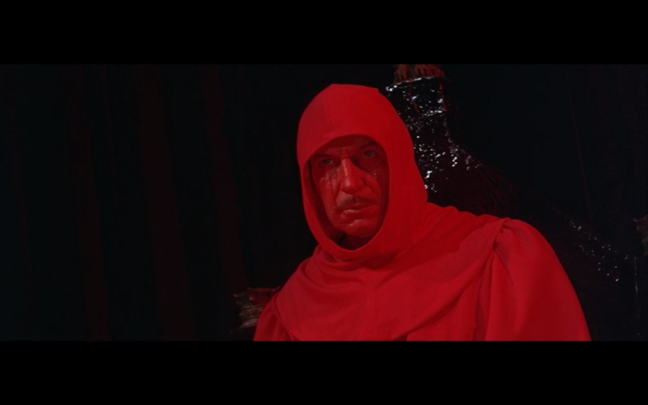 Masque Of The Red Death Rooms