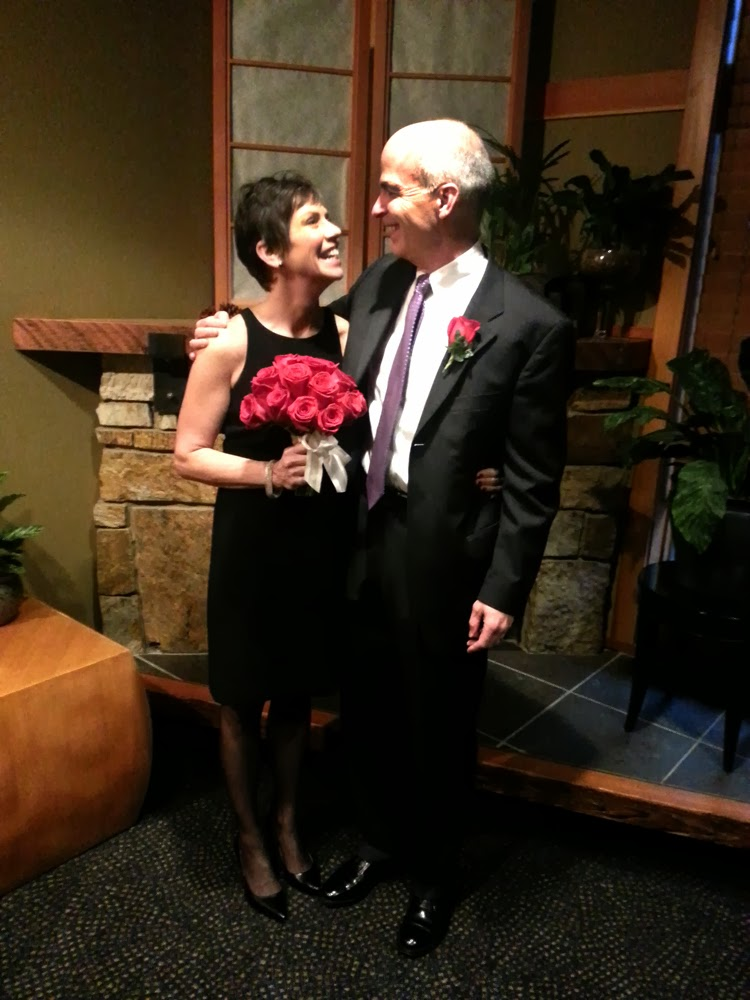 John and Sheila are married - Patricia Stimac, A Heavenly Ceremony