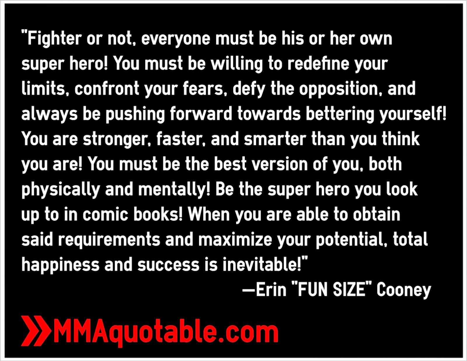 """Hero Quotes Motivational Quotes With Pictures Many Mma & Ufc """"fighter Or"""