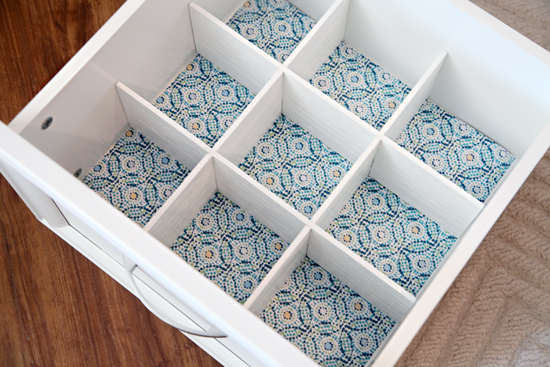 Iheart organizing how to make diy drawer dividers and then lined the drawers with scented drawer liners of course solutioingenieria Gallery