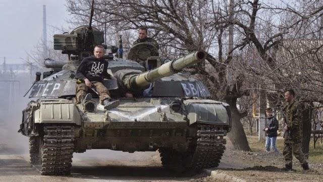 Ucraina si ritirò armi pesanti dalla linea di demarcazione nel Donbass