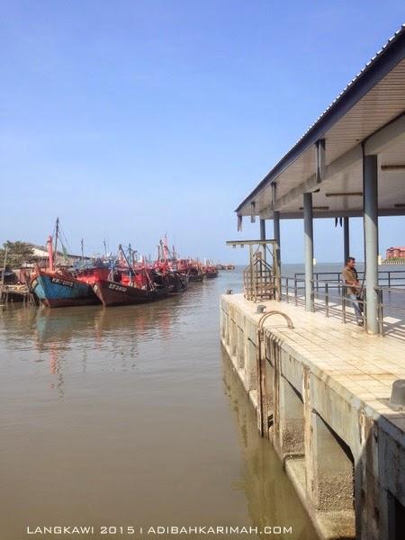 short vacation trip to Langkawi - kuala kedah jetty