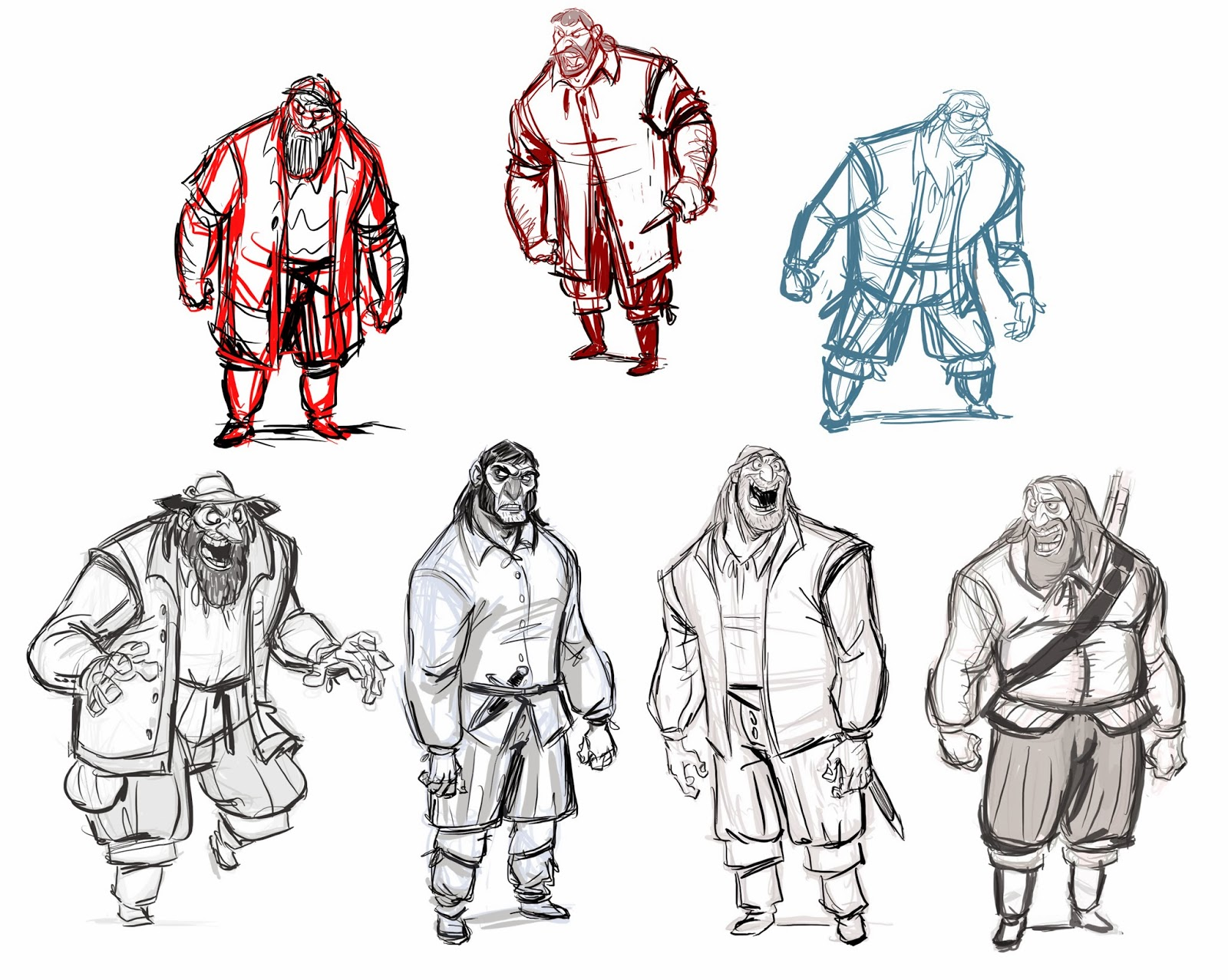 Character Design Reel : Never let me cus if i then im gin pilgrim