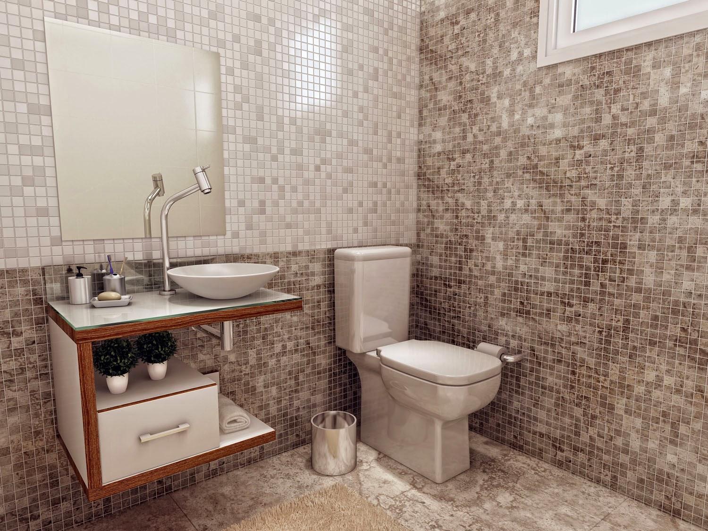 Dicas para decorar banheiros simples  pouco dim dim -> Decorar Banheiro Simples