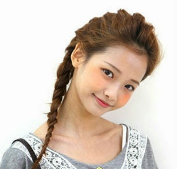 korean girls hair styles new designs pictures 2014