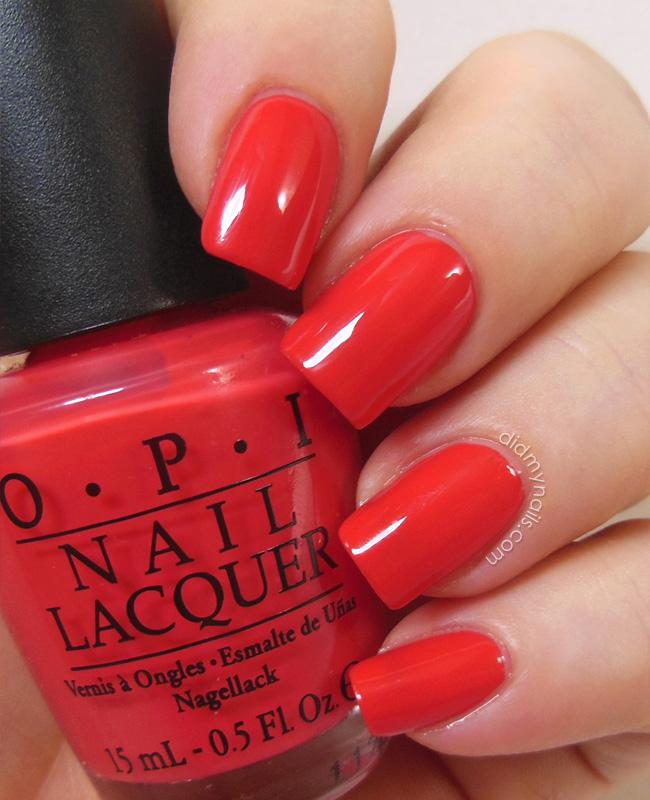 Did My Nails: OPI Cajun Shrimp