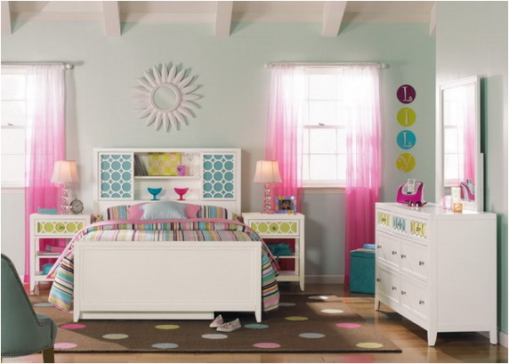 22 transitional modern young girls bedroom ideas room design ideas - Modern girls bedroom design ...