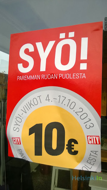 SYÖ!-Viikot October 2013
