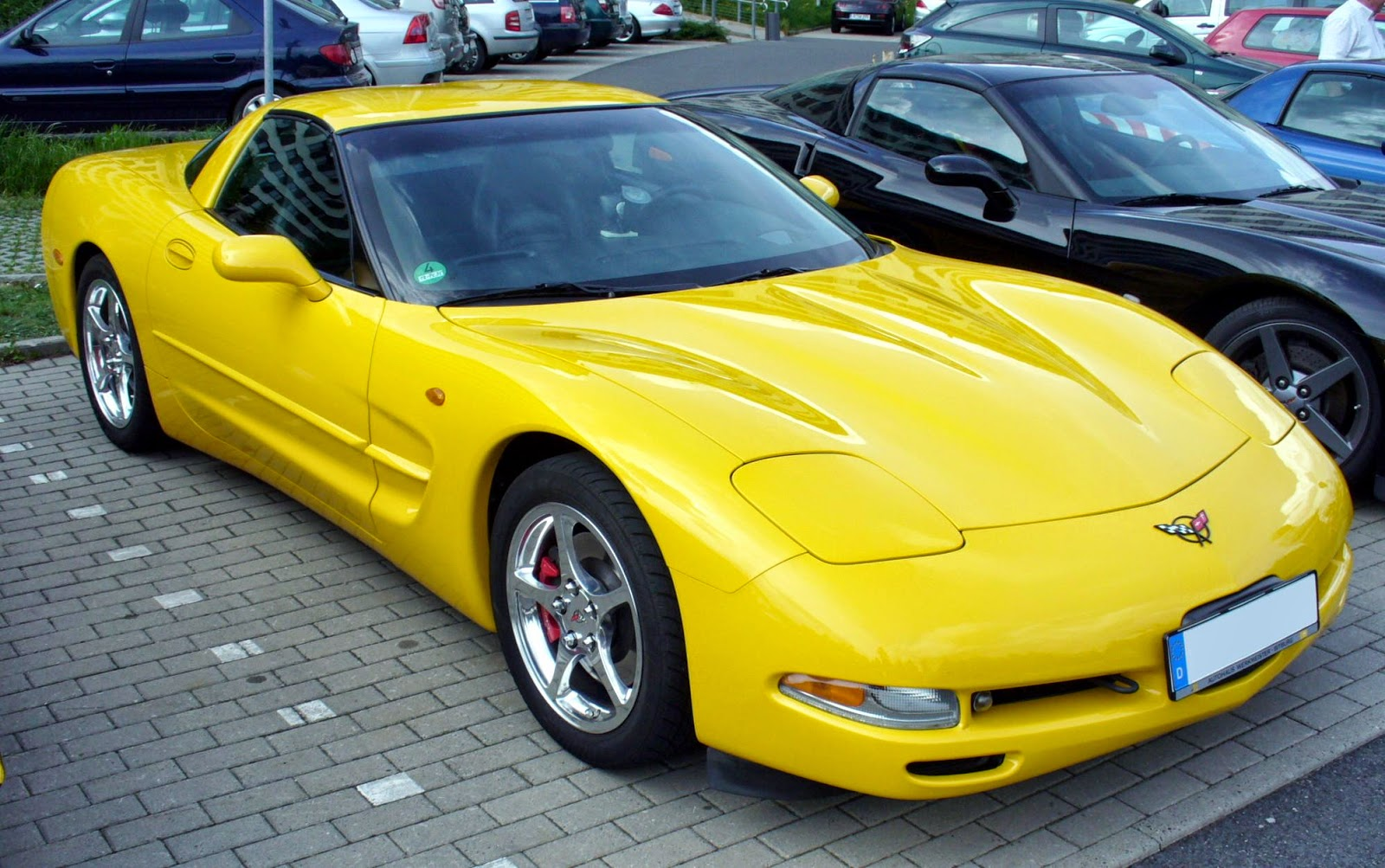 2003 Corvette Coupe Export Mode