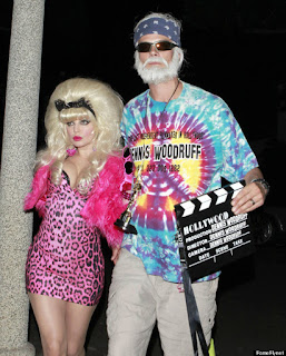 Fergie and Josh Duhamel going to a Halloween party!