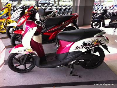 2012 Yamaha Fino Retro