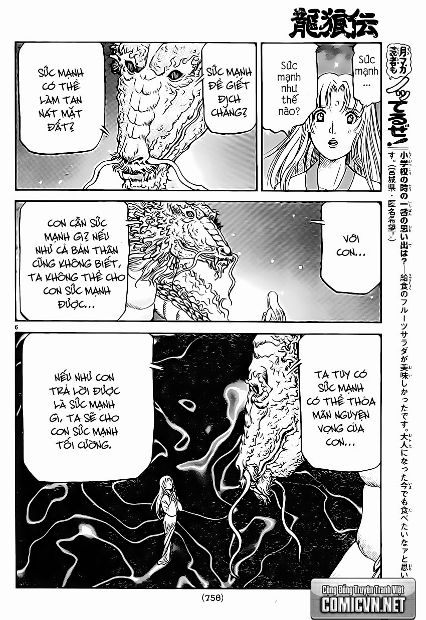 Chú Bé Rồng - Ryuuroden chap 247 - Trang 7