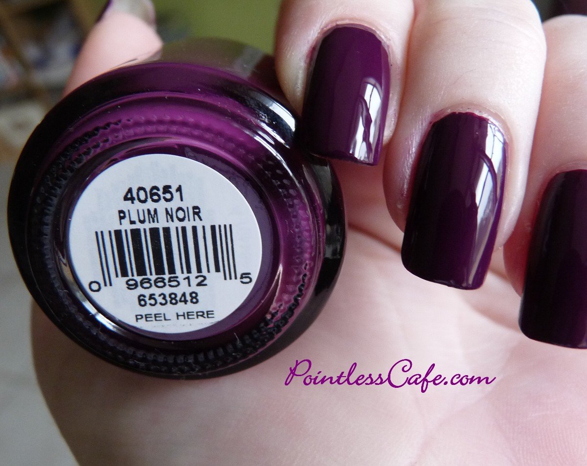 orly plum noir swatches and review pointless cafe. Black Bedroom Furniture Sets. Home Design Ideas