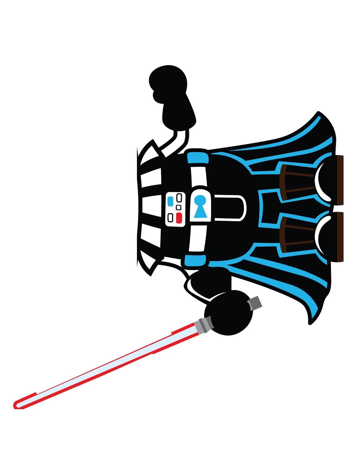 Famille lego star wars deguisement tete vador stormtrooper r2d2 yoda maul bricolage - Deguisement tete de lego ...