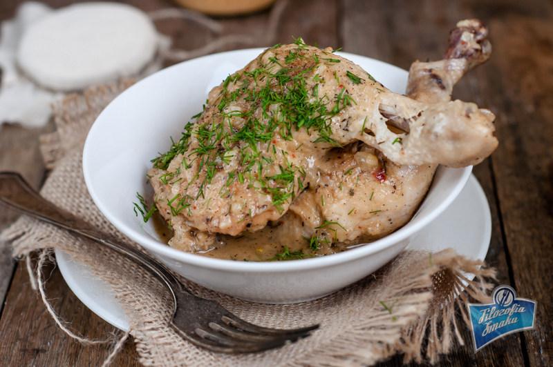 Jak zrobić kurczaka w sosie musztardowym