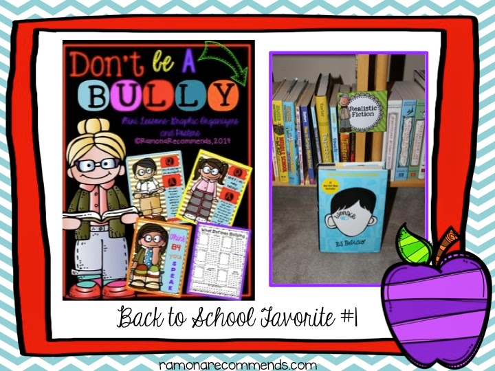 http://www.teacherspayteachers.com/Product/Back-to-School-BULLYING-Graphic-Organizers-Mini-Lessons-Posters-1348405