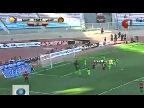 اهداف مباراة الترجي التونسي والمريخ السوداني 2-1 اهداف كاملة +3 دقائق الاخيرة