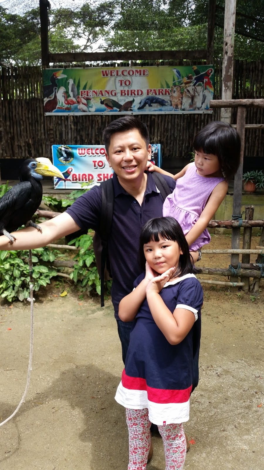 our little princesses penang bird park