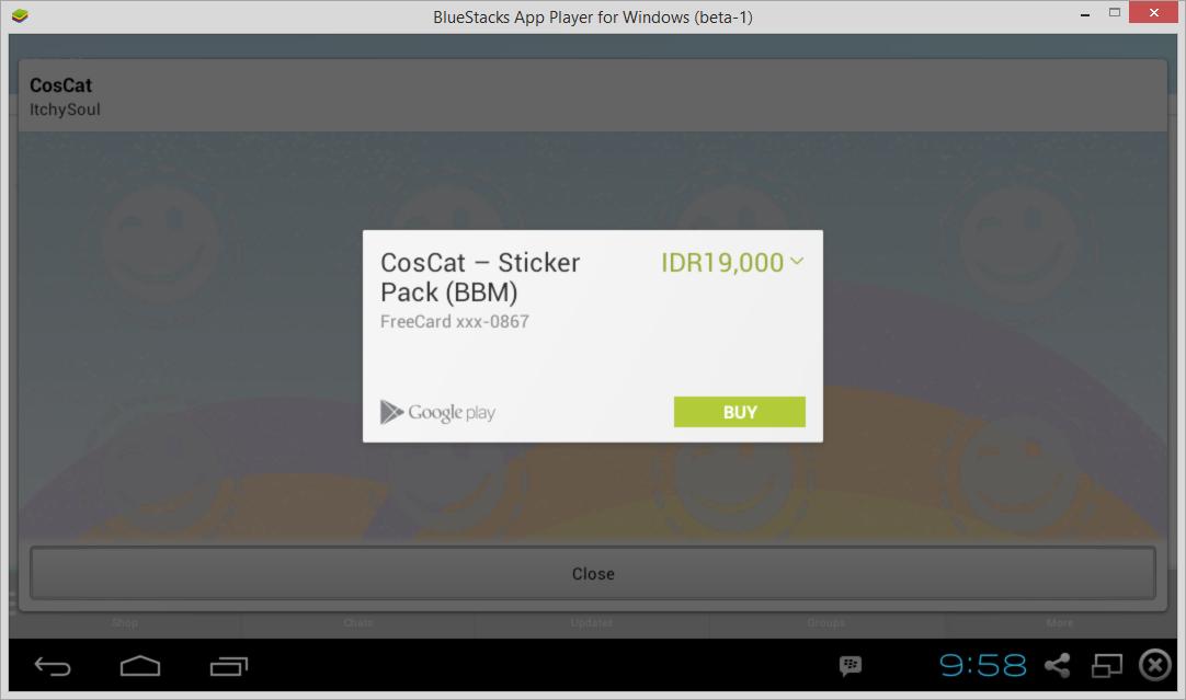 Cara Download Sticker Premium BBM Android Secara Gratis