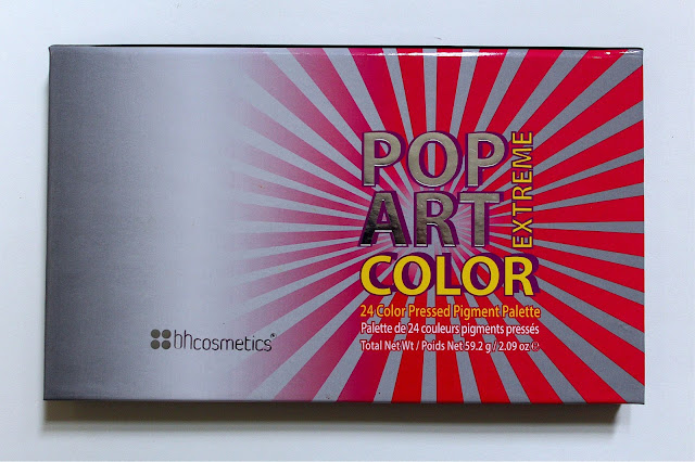 BH Cosmetics Pop Art Color Extreme Palette | Ashley Elizabeth