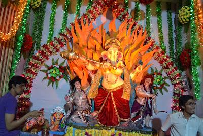 Ganesh Chaturthi Utsav Limda Chawk Surat