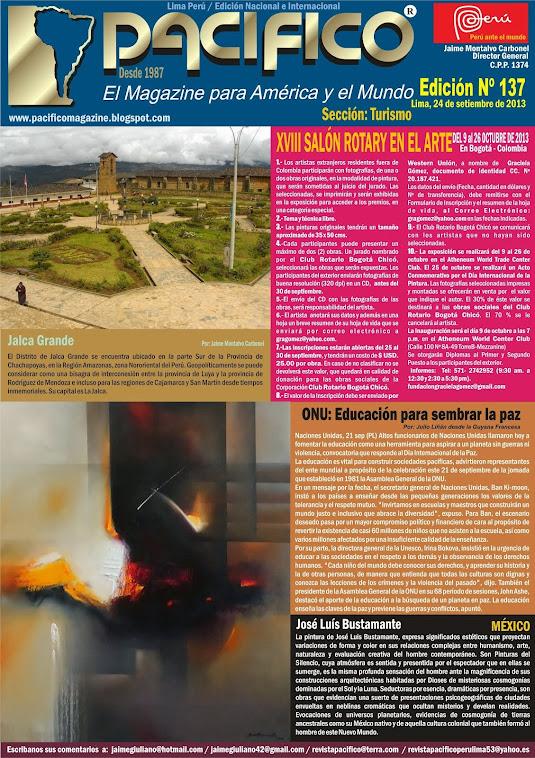 Revista Pacífico Nº 137 Turismo