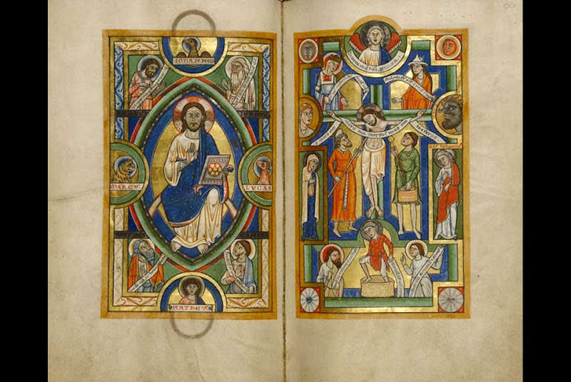 """In the Beginning Was the Word"": Medieval gospel illumination exhibition at the Getty Museum"