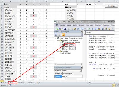 Planilhas, Excel, macros