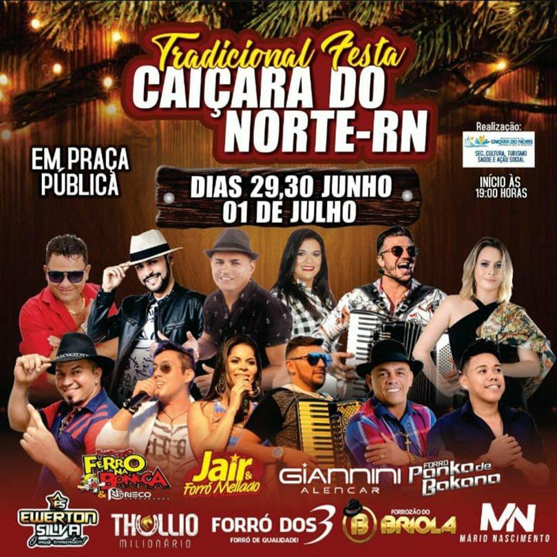 TRADICIONAL FESTA DE CAIÇARA DO NORTE/RN 2018