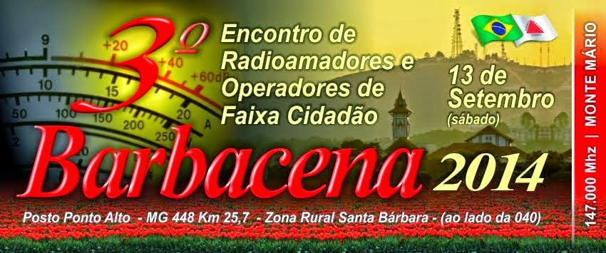 3º ENCONTRO DE RADIOAMADORES E OPERADORES DA FAIXA DO CIDADÃO