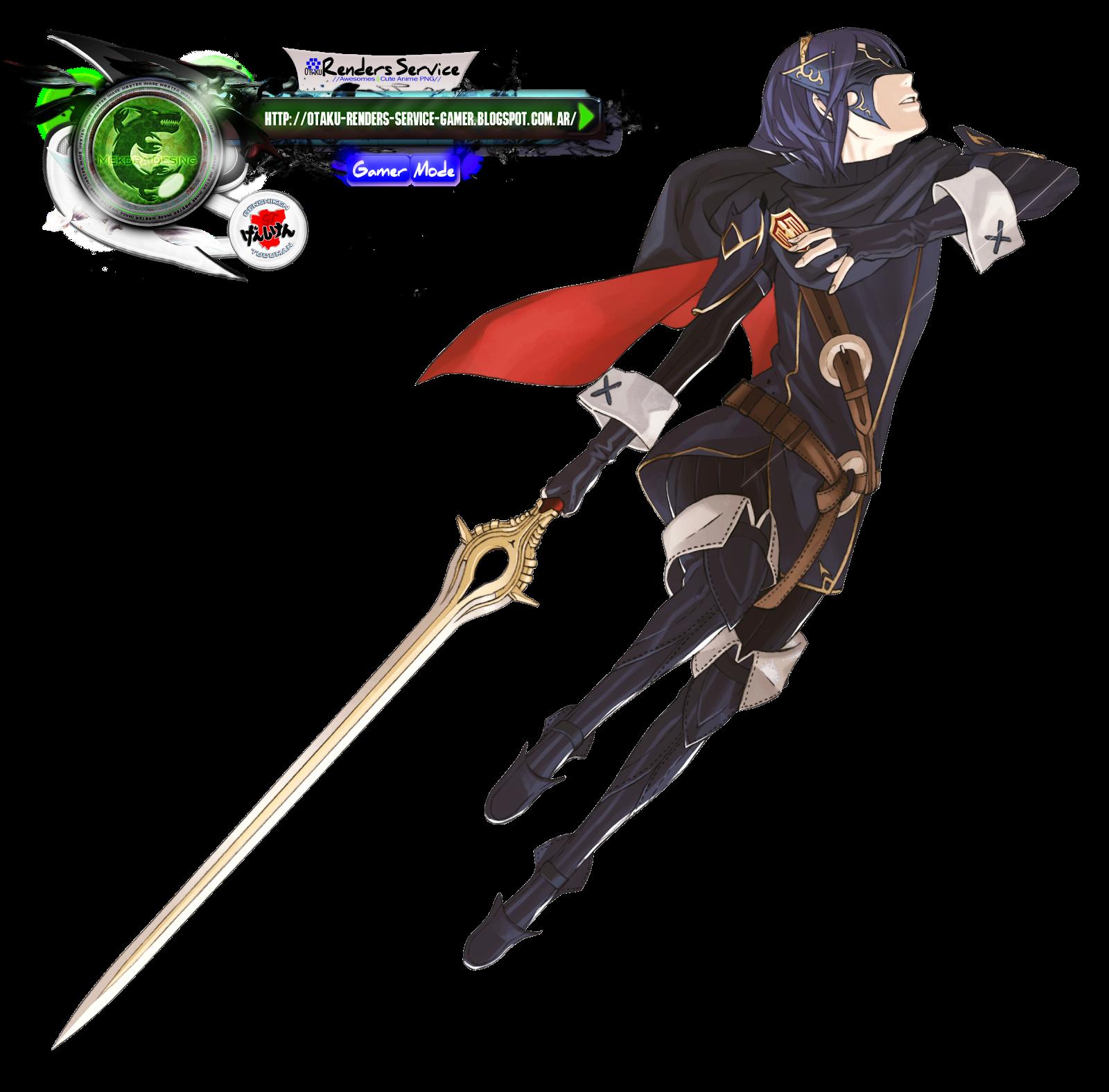 Fire Emblem Awakening:Lucina Kakoii HD Render | ORS Anime ...