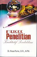 toko buku rahma: buku METODE PENELITIAN KUALITATIF PENDIDIKAN, pengarang nusa putra, penerbit rajawali pers