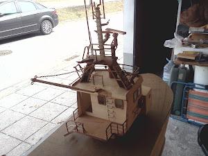 construção de um arrastão