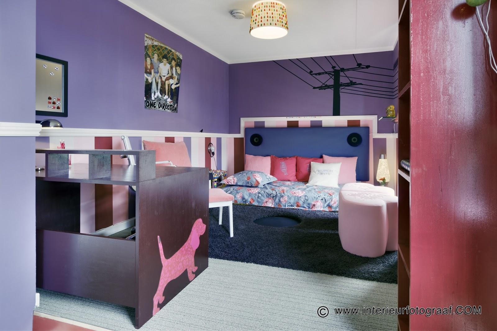 Binnenzinnig kunst en interieur - Decoratie slaapkamer meisje jaar ...